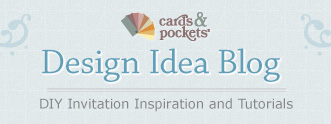 cards & pockets design idea blog - DIY Invitation inspiration and tutorials