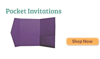 Pocket Invitations £0.7 Including Shipping, Shop Now