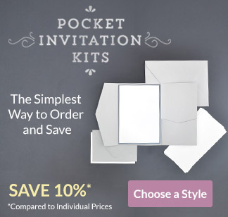 Cards pockets diy wedding invitation supplies diy invitation kits stopboris Choice Image