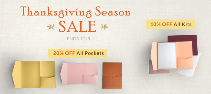 Thanksgiving Season Sale