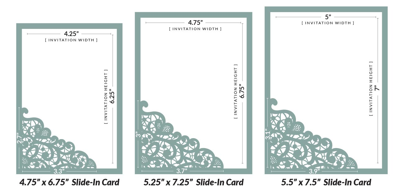 Laser Wedding Invitations: How To DIY Laser Wedding Invitations With Slide-in Cards