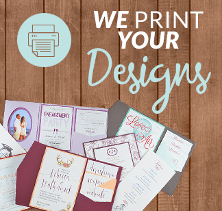 diy invitation kits print your own designs - Paper For Wedding Invitations