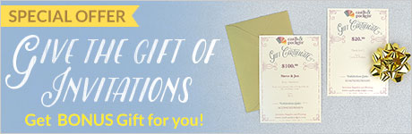 Give The Gift of Invitations!