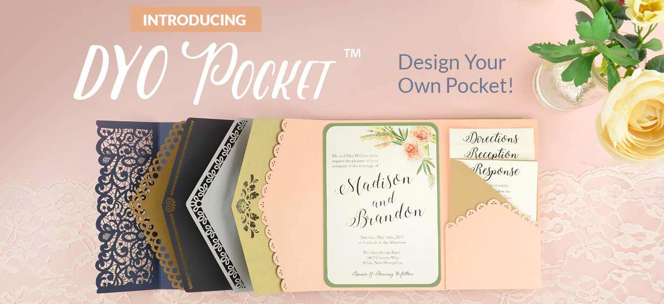 Cards & Pockets | DIY Wedding Invitation Supplies