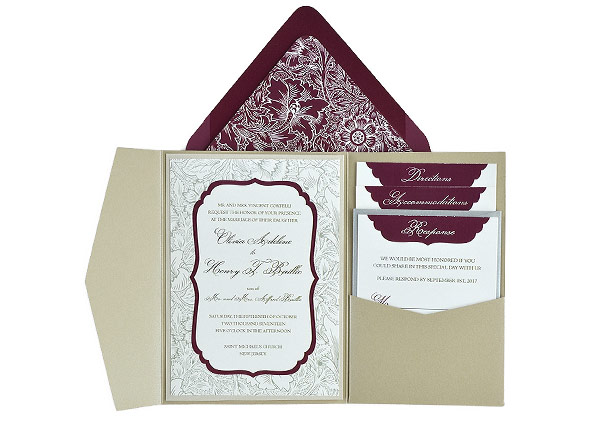 Wedding Invitation Suite Templates: Free Wedding Invitation 5x7 Template Suite