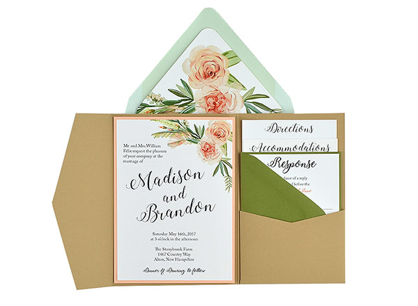 Cards And Pockets Free Wedding Invitation Templates - Wedding invitation templates: wedding invitation suite templates