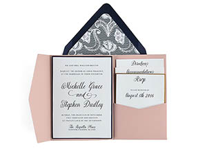 Cards And Pockets Free Pocket Wedding Invitation Templates X - 5x7 wedding program template