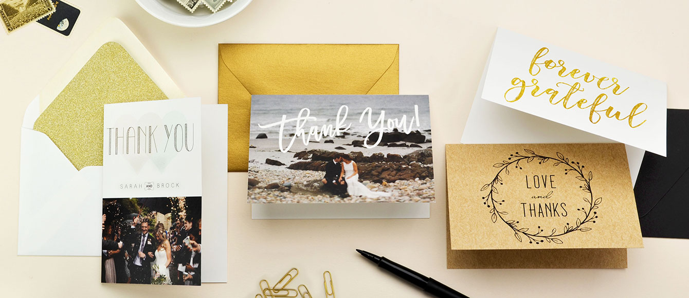 Image of Custom Thank You Cards