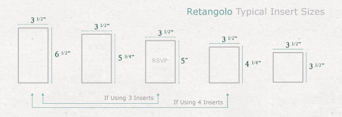 rsvp card dimensions