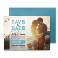 Save The Date Cards with Envelopes