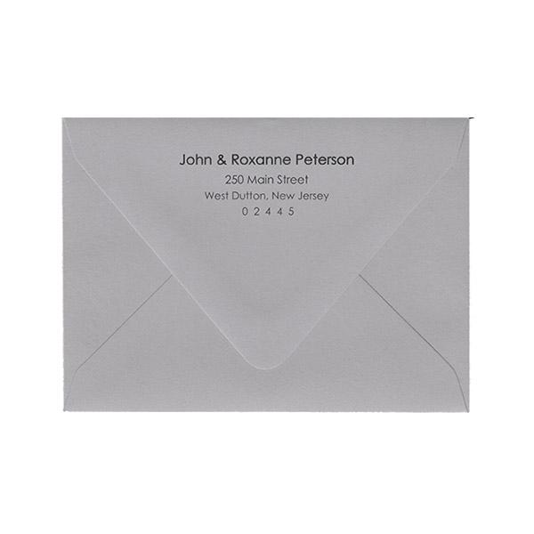 Euro Flap Return Address Printed Envelopes