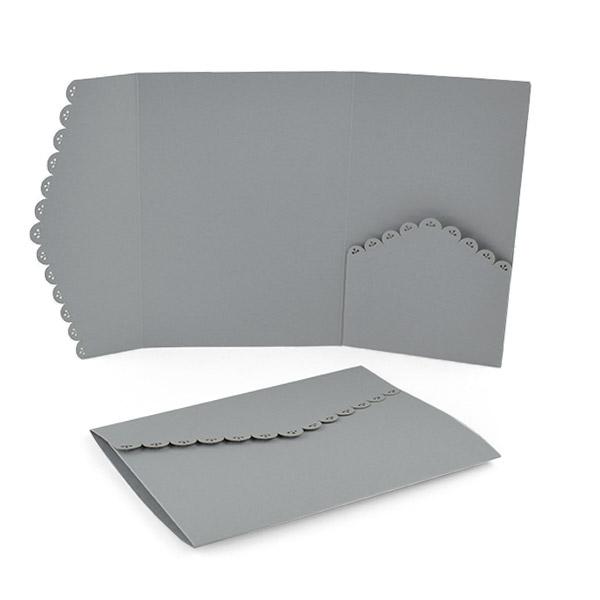 Ornate Laser Pocket Invitation – Pocket Invitation Card