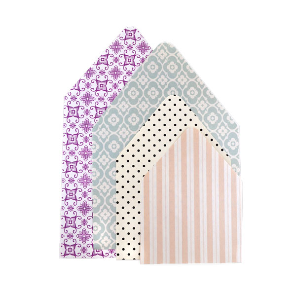 Envelope Liners | Pattern Paper - Cards & Pockets