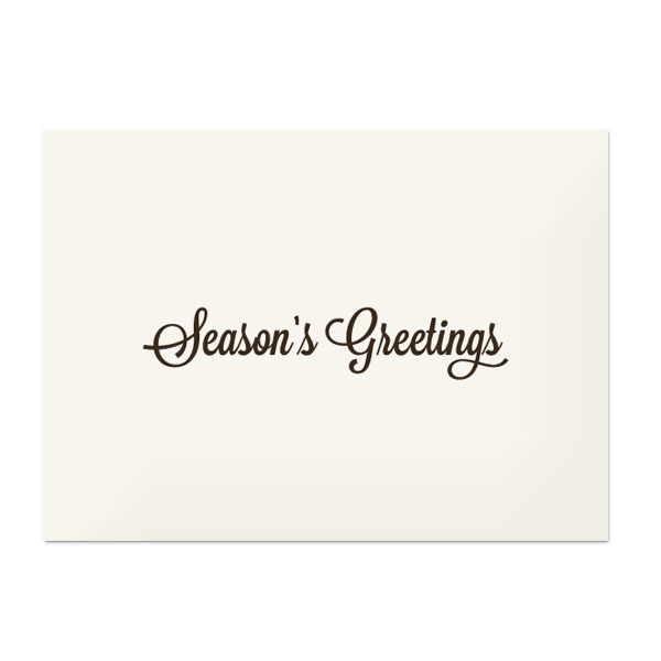 Seasons greetings photo cardwith envelope sample m4hsunfo