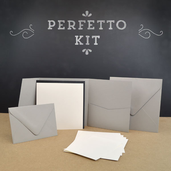 Perfetto Pocket Invitation Kit