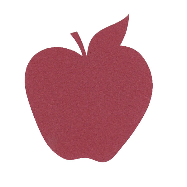 Apple Logo Shaped Cake