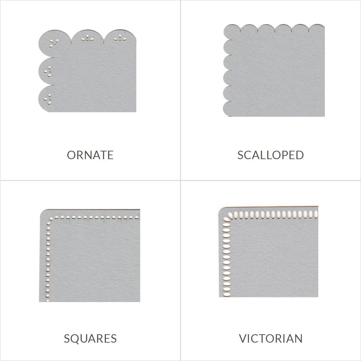 Invitation Mat | 4 3/4 x 6 3/4 Laser Cut - Cards & Pockets