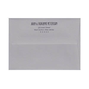 A7 square flap return address printed envelopes thecheapjerseys Gallery