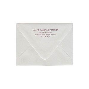 how to print addresses on envelopes