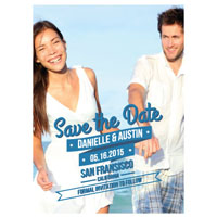 Cascading Banner Save the Date