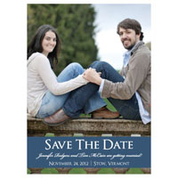 Color Stripe Save the Date