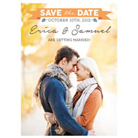 Fall in Love Save the Date