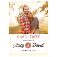 Framed With Love Save the Date