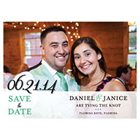 Ornate Photo Save the Date