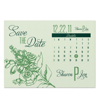 Peony Save the Date