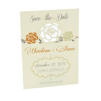 Spring Bloom Laser Save the Date