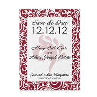 Swirl Pattern Save the Dates