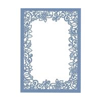 Flourish Laser Invitation Frame