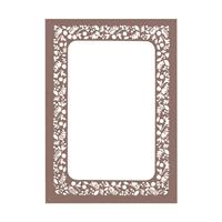 Seedling Laser Invitation Frame