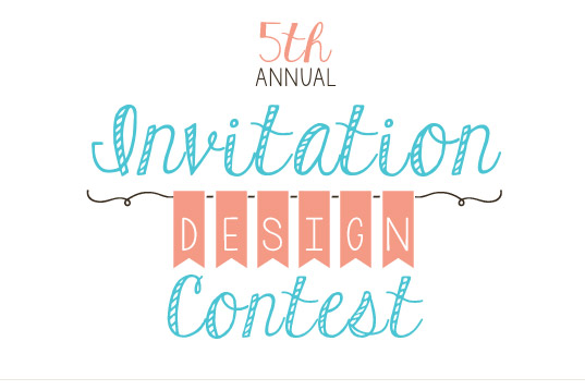 2013 Invitation Design Contest