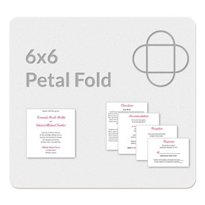 a7 folded card template