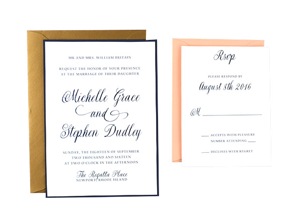 Lace Free Wedding Invitation Template