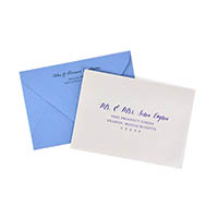 RSVP Printed Envelopes