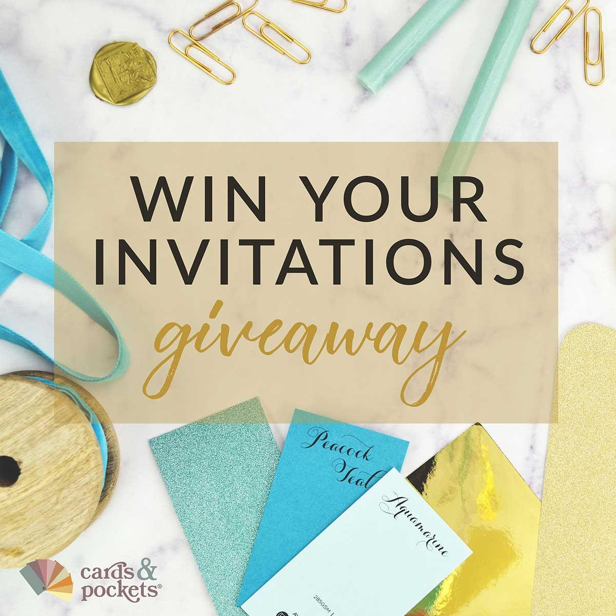 Win Your Wedding Invitations 2018 Instagram Contest