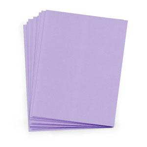 Lavender Matte 8 1/2 x 11 Cardstock (25 Pack)