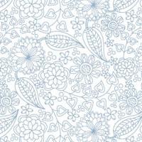 Scribble Floral