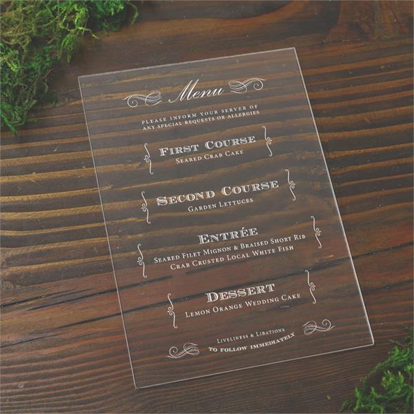 clear menus