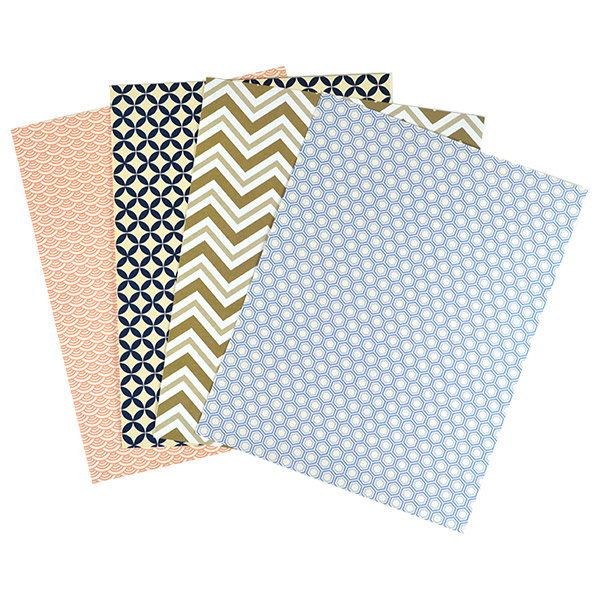 pattern paper  8 12 x 11 sheets  cards  pockets