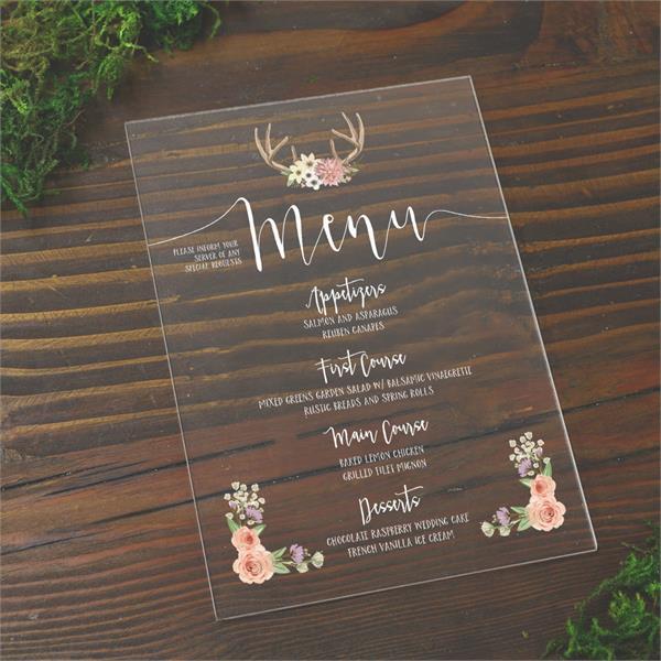 clear menu