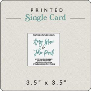 cards and pockets printed single cards