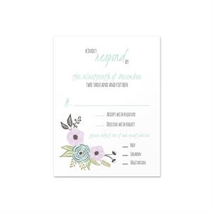 "4 1/8"" x 5 1/2"" (A2) RSVP Cards (Signature Plus)"