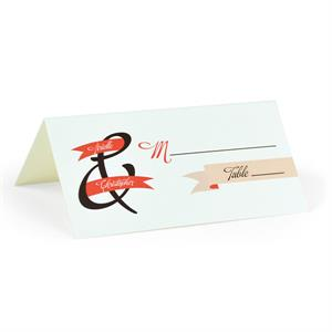 Banner of Love - Blank Folded Place Cards