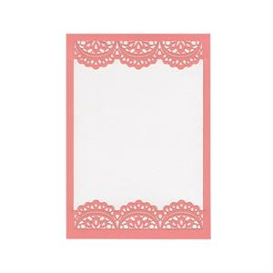 Doily Invitation Slide-in Card