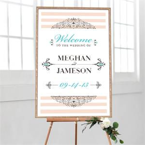 Wedding Welcome Embellished