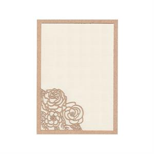 Flower Bouquet Invitation Slide-in Card