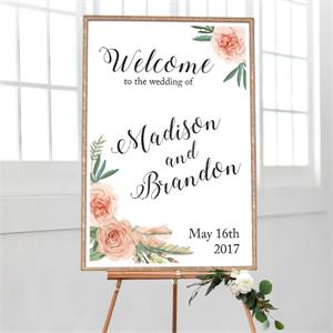 Wedding Welcome Flower Bouquet